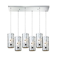 ELK Lighting Chromia 6 Light Pendant in Polished Chrome 31077/6RC