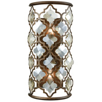 Armand 2 Light 8 inch Weathered Bronze Wall Sconce Wall Light