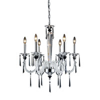 ELK Lighting Duchess 6 Light Chandelier in Polished Chrome 31091/6