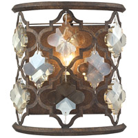 Armand 1 Light 8 inch Weathered Bronze Wall Sconce Wall Light