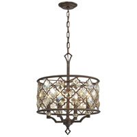 ELK 31096/4 Armand 4 Light 17 inch Weathered Bronze Pendant Ceiling Light