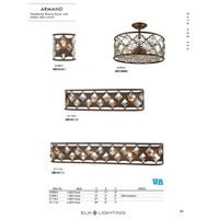ELK 31098/6 Armand 6 Light 12 inch Weathered Bronze Chandelier Ceiling Light alternative photo thumbnail