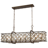 Armand 8 Light 47 inch Weathered Bronze Billiard Island Ceiling Light