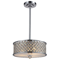 ELK Lighting Genevieve 3 Light Semi-Flush Mount in Polished Chrome 31101/3