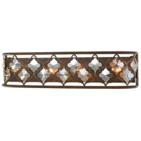 ELK 31110/4 Armand 4 Light 27 inch Weathered Bronze Vanity Light Wall Light
