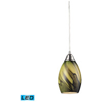 ELK Lighting Formations 1 Light Pendant in Satin Nickel 31133/1PLN-LED