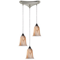 ELK Lighting Granite 3 Light Pendant in Satin Nickel 31138/3