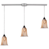 ELK Lighting Granite 3 Light Pendant in Satin Nickel 31138/3L