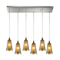 ELK Lighting Encapsulate 6 Light Pendant in Satin Nickel 31148/6RC