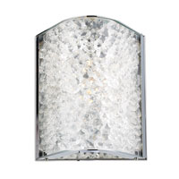 ELK Lighting Encased Crystals 1 Light Bath Bar in Polished Chrome 31180/1