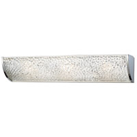 ELK Lighting Encased Crystals 3 Light Bath Bar in Polished Chrome 31182/3