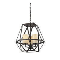 ELK Lighting Delaney 3 Light Pendant in Oil Rubbed Bronze 31186/3