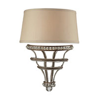 ELK Lighting Chaumont 2 Light Wall Sconce in Mocha 31200/2 photo thumbnail