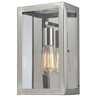 Parameters 1 Light 7 inch Polished Chrome Wall Sconce Wall Light