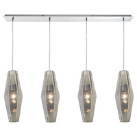 ELK 31216/4LP Pelham 4 Light 46 inch Polished Chrome Linear Pendant Ceiling Light