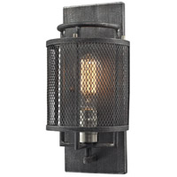 Slatington 1 Light 6 inch Brushed Nickel with Silvered Graphite Wall Sconce Wall Light
