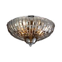 ELK Lighting Crystal 2 Light Flush Mount in Polished Chrome 31250/2