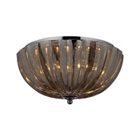 ELK Lighting Crystal 2 Light Flush Mount in Polished Chrome 31251/2