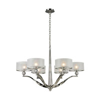 ELK Lighting Corisande 6 Light Chandelier in Polished Nickel 31294/6