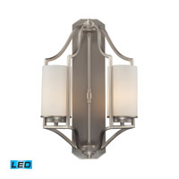 ELK Lighting Linden 2 Light Wall Sconce in Matte Nickel 31304/2-LED