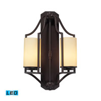 ELK Lighting Linden 2 Light Wall Sconce in Oiled Bronze 31314/2-LED