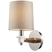 Jorgenson 1 Light 6 inch Polished Nickel Wall Sconce Wall Light