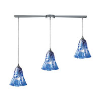 ELK Lighting Vestido 3 Light Pendant in Polished Chrome 31342/3L-VBL
