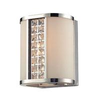 ELK Lighting Pasaic 1 Light Bath Bar in Polished Chrome 31343/1