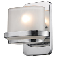 Bismark 1 Light 7 inch Polished Chrome Bath Bar Wall Light