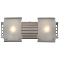 Winslow 2 Light 17 inch Brushed Nickel Bath Bar Wall Light