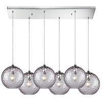 Watersphere 6 Light 30 inch Polished Chrome Pendant Ceiling Light