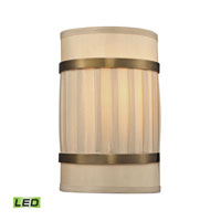 ELK Lighting Luxembourg LED Wall Sconce in Brushed Antique Brass 31385/2-LED
