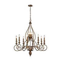 Hamilton 12 Light 36 inch Mocha Chandelier Ceiling Light
