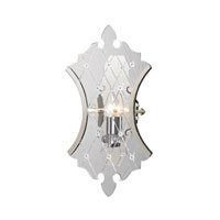 ELK Lighting Radelle 1 Light Wall Sconce in Polished Nickel 31400/1