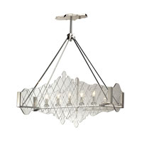 Radelle 5 Light 37 inch Polished Nickel Chandelier Ceiling Light