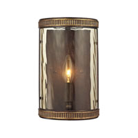 ELK Lighting Mooreland 1 Light Wall Sconce in Weathered Bronze 31405/1