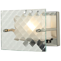 Talmage 1 Light 7 inch Brushed Nickel Bath Bar Wall Light