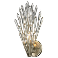 Viva 1 Light 8 inch Aged Silver Wall Sconce Wall Light