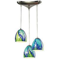 ELK 31445/3TB-LED Colorwave LED 10 inch Satin Nickel Pendant Ceiling Light