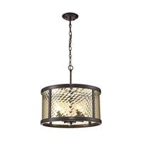 Chandler 4 Light 18 inch Oil Rubbed Bronze Pendant Ceiling Light