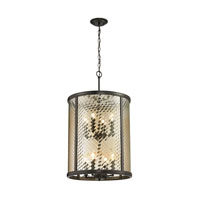 ELK Lighting Chandler 8 Light Pendant in Oil Rubbed Bronze 31453/8