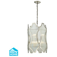 ELK Lighting HGTV HOME Benicia 6 Light Pendant in Polished Nickel 31457/3+3