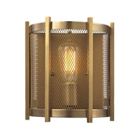 ELK Lighting HGTV HOME Rialto 1 Light Wall Sconce in Aged Brass 31480/1