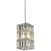 ELK 31488/1 Cynthia 1 Light 4 inch Polished Chrome Pendant Ceiling Light