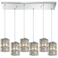 ELK Lighting Cynthia 6 Light Chandelier in Polished Chrome 31488/6RC