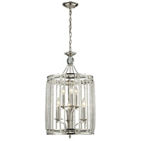 Aubree 8 Light 14 inch Polished Nickel Pendant Ceiling Light
