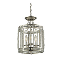 ELK Lighting Aubree 3 Light Pendant in Polished Nickel 31504/3