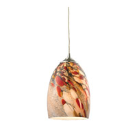 Garden Breeze 1 Light 6 inch Satin Nickel Pendant Ceiling Light