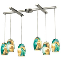 Surreal LED 17 inch Satin Nickel Pendant Ceiling Light