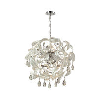 Zebula 16 Light 28 inch White Chandelier Ceiling Light